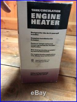 ZeroStart Circulation Engine Heater 3305003 -120V/ 1500W- New In Box